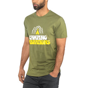 POLER Camping Vibrations T-Shirt Men olive
